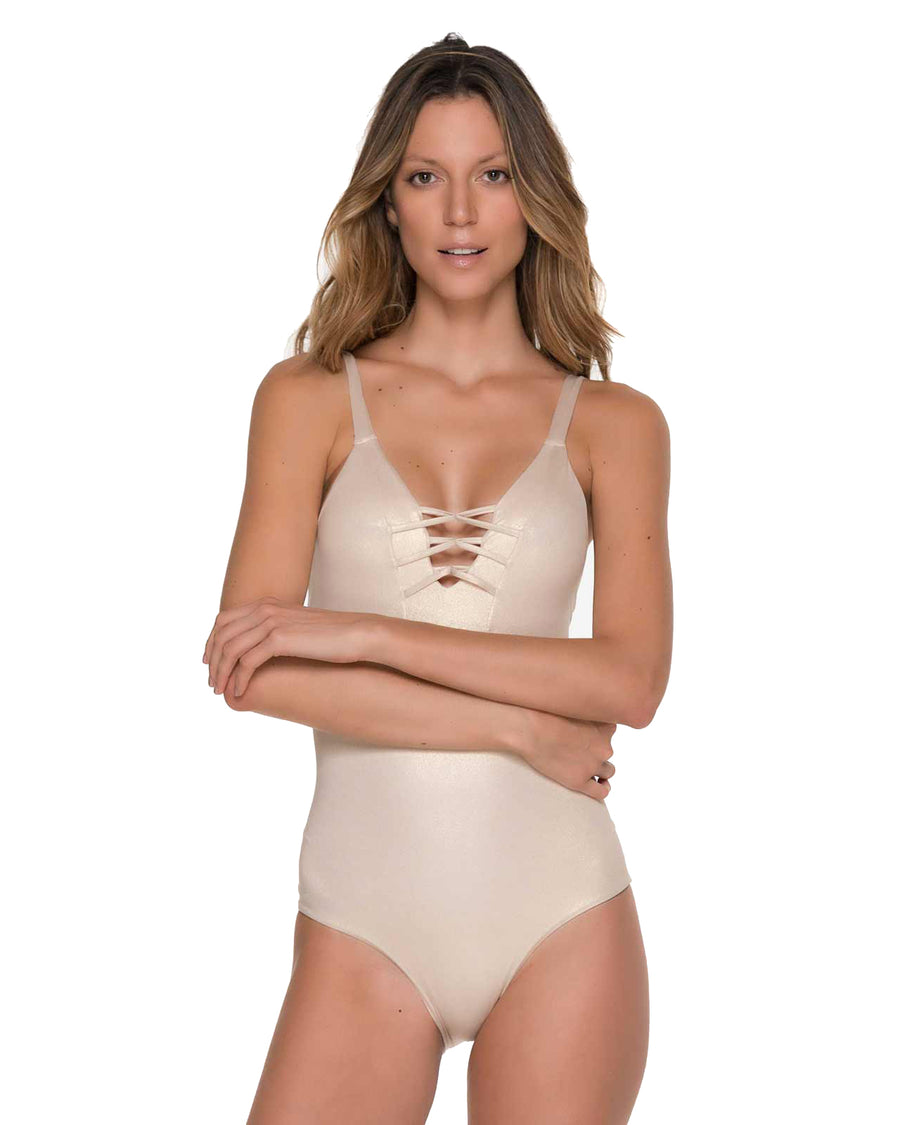CHIEF FISHBONE GILT ONE PIECE MALAI OP0085