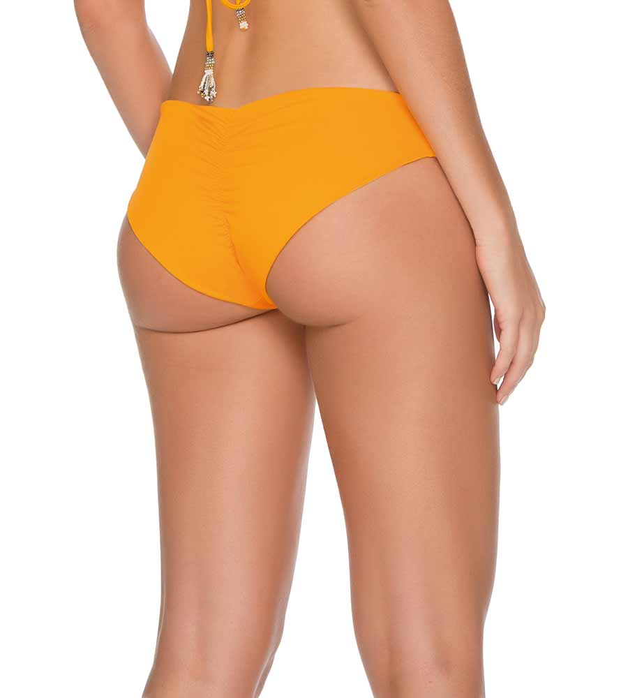 PALETTE COLORS MARIGOLD BASIC BIKINI BOTTOM BY MILONGA