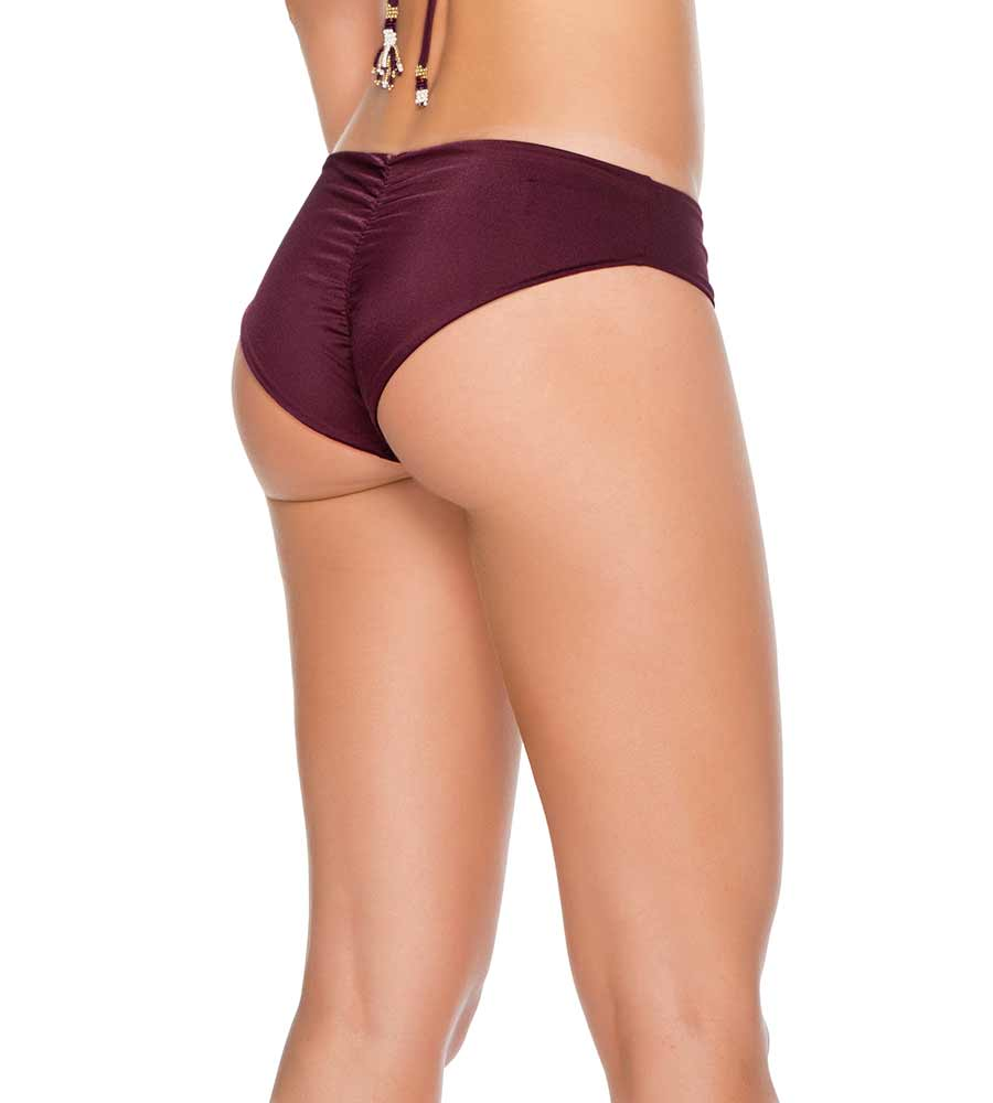 PALETTE COLORS PLUM BASIC BIKINI BOTTOM BY MILONGA
