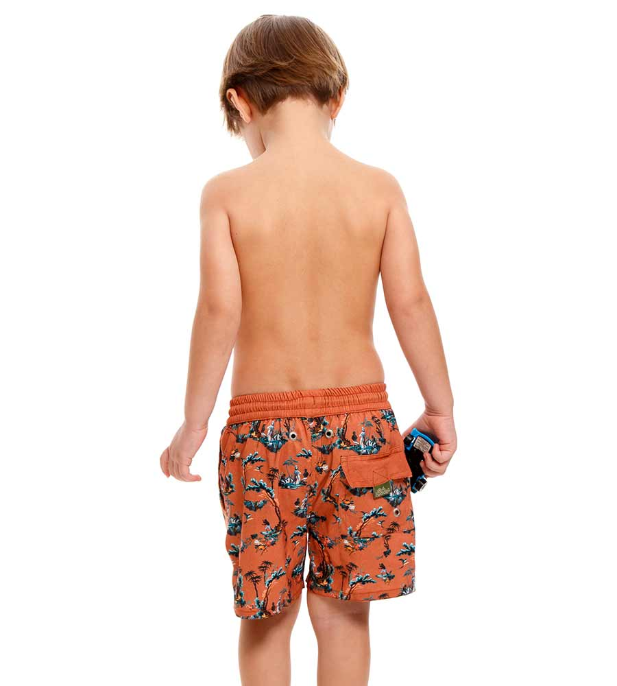 PAVANA NICK BOYS SWIM TRUNKS AGUA BENDITA AN2002820-1