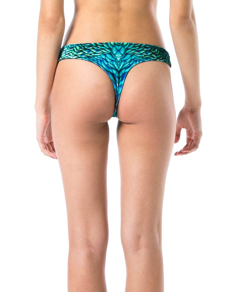 PEACOCK VELVET BRAZILIAN BOTTOM BY SELVAKI