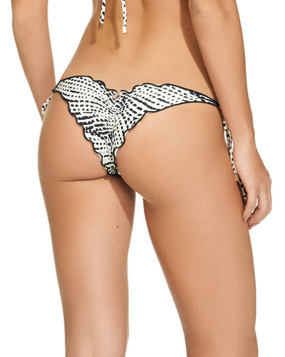 PEARL BLACK RIPPLE TIE SIDE BOTTOM VIX 148-521-001