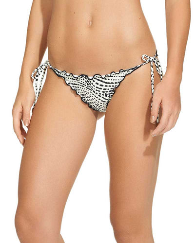 PEARL BLACK RIPPLE TIE SIDE BOTTOM VIX 149-521-001
