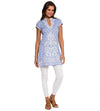 PERIWINKLE MONET LONG TUNIC SULU MONET2