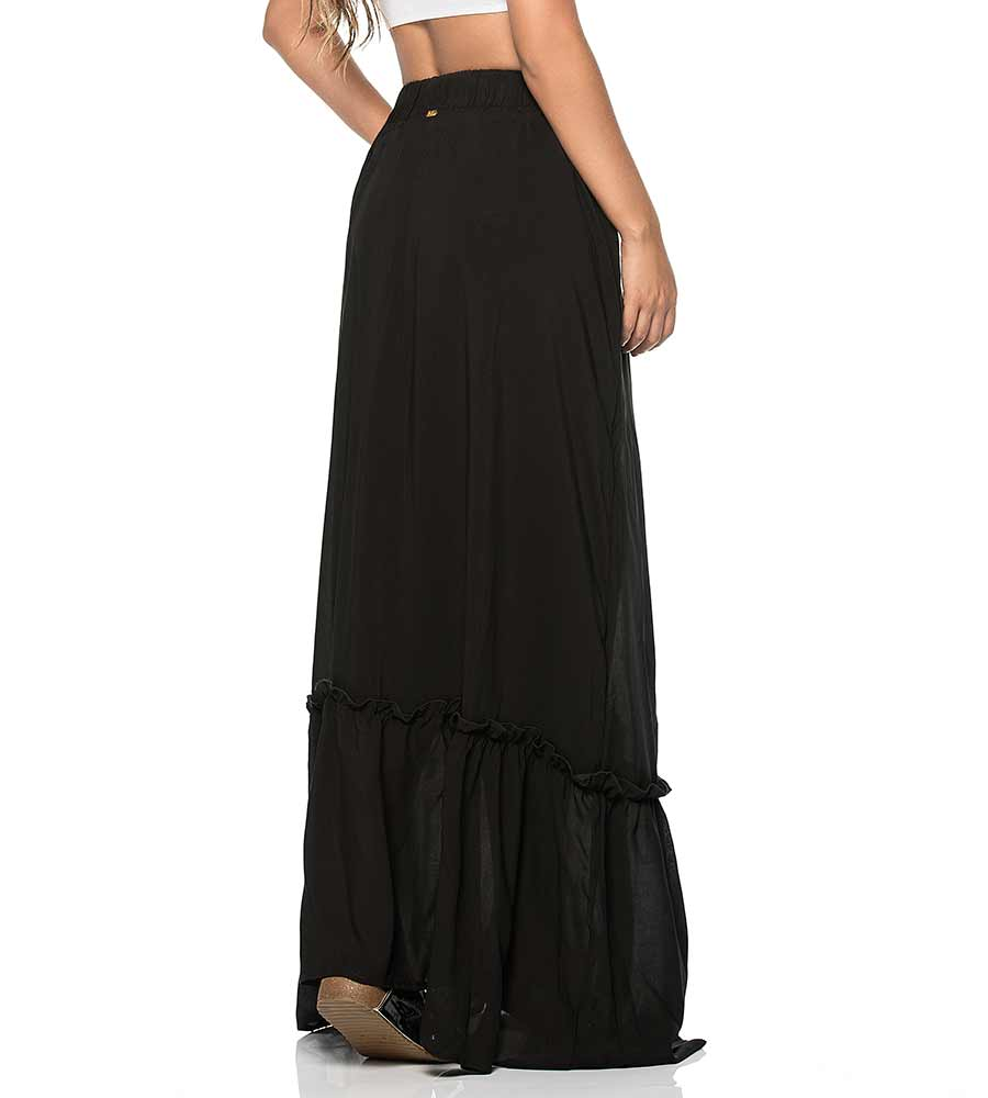 SOFIA BLACK LONG SKIRT PHAX PF11720080-001