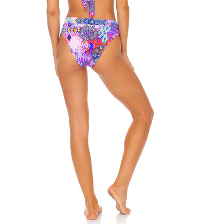 PINK LAGOON HIGH WAIST BANDED BOTTOM LULI FAMA L646N56-111