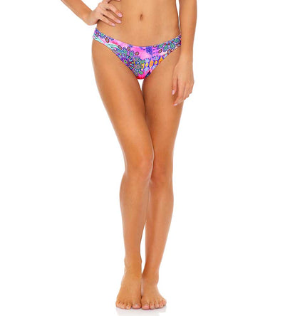 PINK LAGOON REVERSIBLE BANDED FULL BOTTOM LULI FAMA L646L18-111