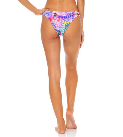 PINK LAGOON REVERSIBLE BANDED MODERATE BOTTOM LULI FAMA L646L05-111