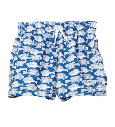 PLENTY OF FISH SWIM SHORTS AZUL 234