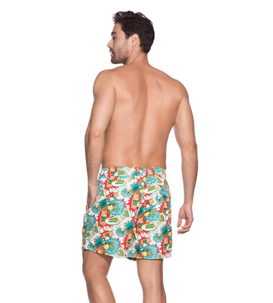 PEACH AND PINEAPPPLE SWIM SHORT ONDADEMAR PN2192-BAYP