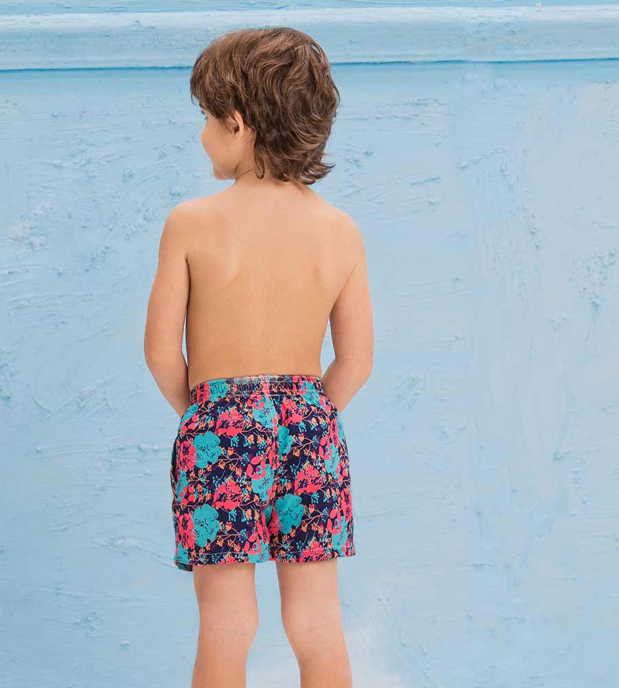 POPPING POPPIES BOYS SWIM SHORT ONDADEMAR PNBY3203-BAYP