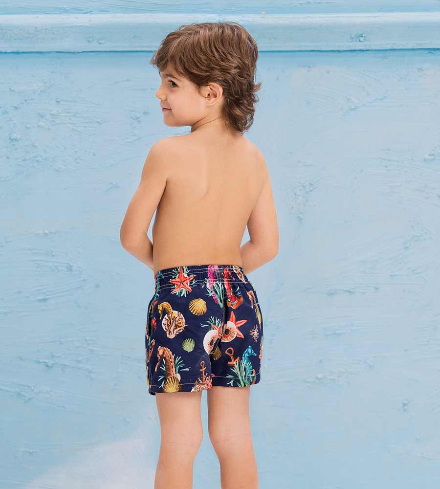 UNDER THE SEA BOYS SWIM SHORT ONDADEMAR PNBY3206-BAYP