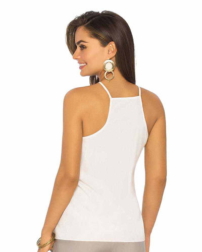 WHITE MESH CAMI TOP PHAX PO11610016-100
