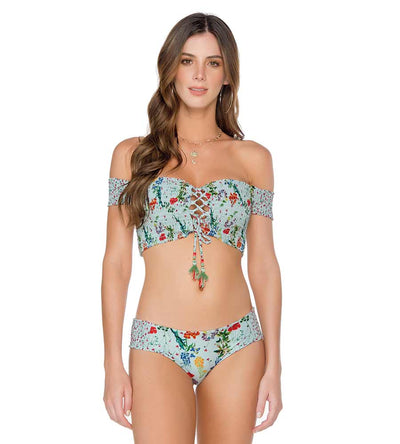 PROVENCE OFF SHOULDER BIKINI TOP MILONGA PRO201