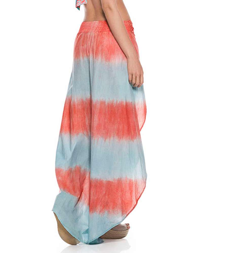 TIE DYE COTTON PANT ONDADEMAR PT086-SOLID