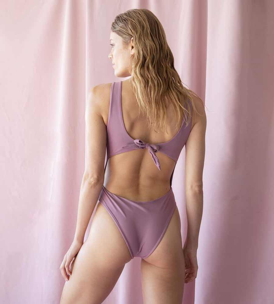 PURPLE CODY ONE PIECE KIRSTEN JADE S1903