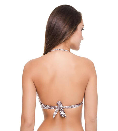 PYTHON ROCK N ROLL BIKINI TOP DESPI 4627T