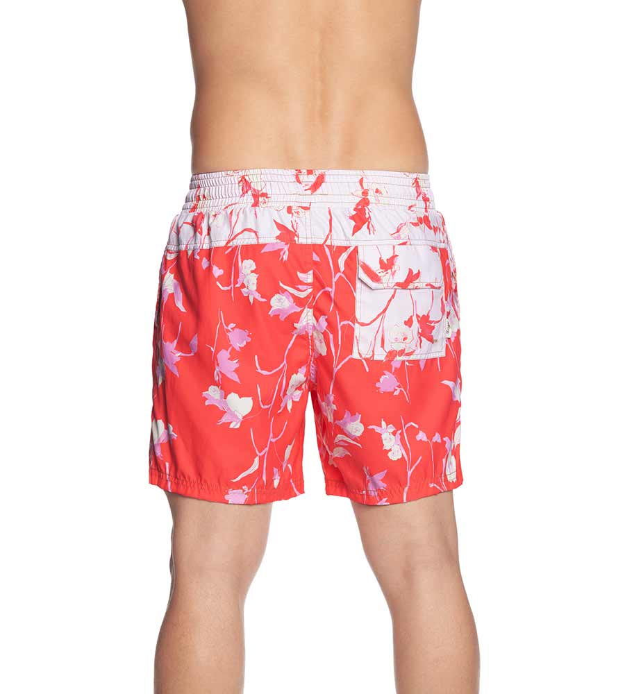 RED SUNSET MENS SWIM TRUNKS MAAJI 1049TSS17