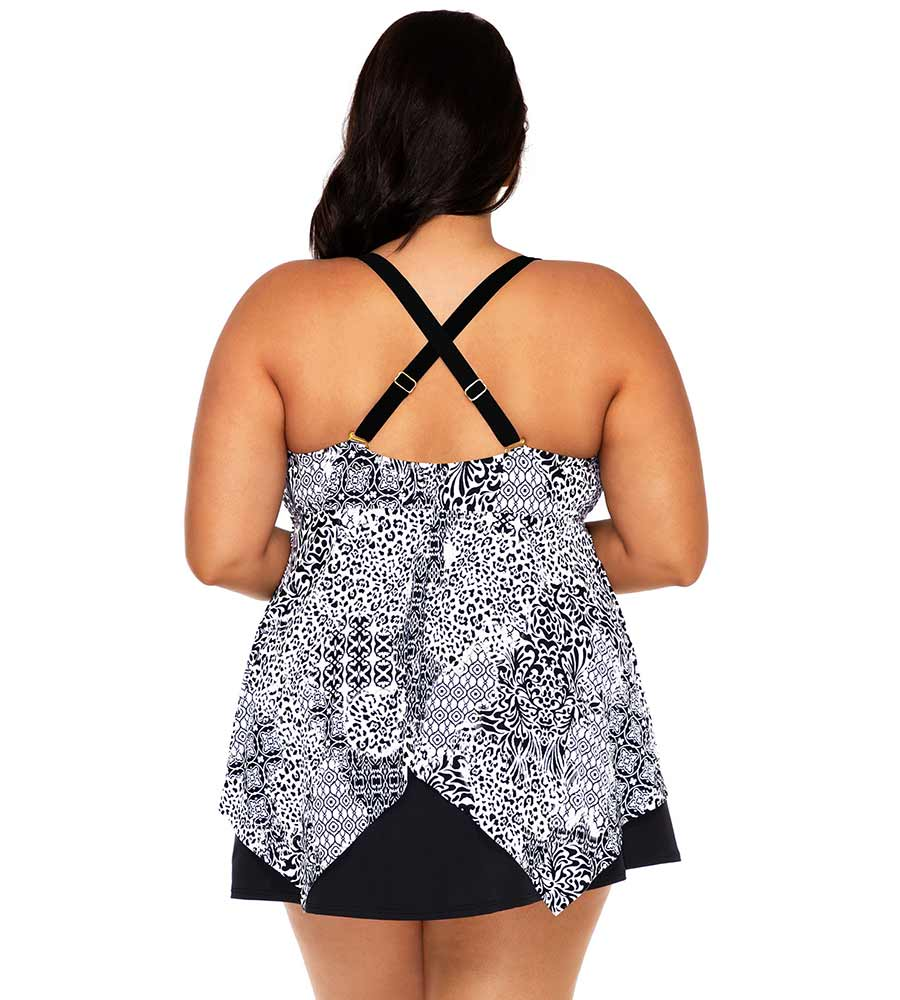 RENAISSANCE SAVANNAH KEYHOLE TANKINI TOP SUNSETS ESCAPE 579TRENAI