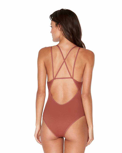 RIDIN HIGH RIBBED SAHARA DAKOTA ONE PIECE LSPACE RHDKM18-SAH
