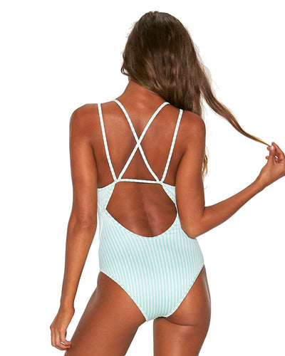 SPEARMINT RIDIN HIGH RIBBED DAKOTA ONE PIECE LSPACE RHDKMC18-SPR