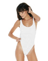 RIDIN' HIGH RIBBED WHITE MAYRA ONE PIECE LSPACE RHMYMC18-WHT