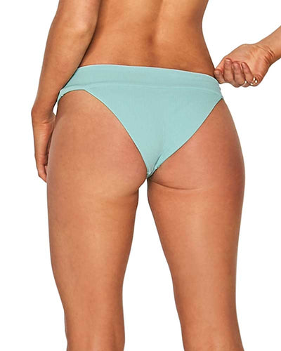 LIGHT TURQ RIDIN HIGH RIBBED VERONICA BOTTOM LSPACE RHVEC18-LIT