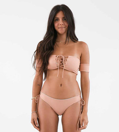 RIBBED PEACH KEHLANI TOP NIRVANIC NW00022GS