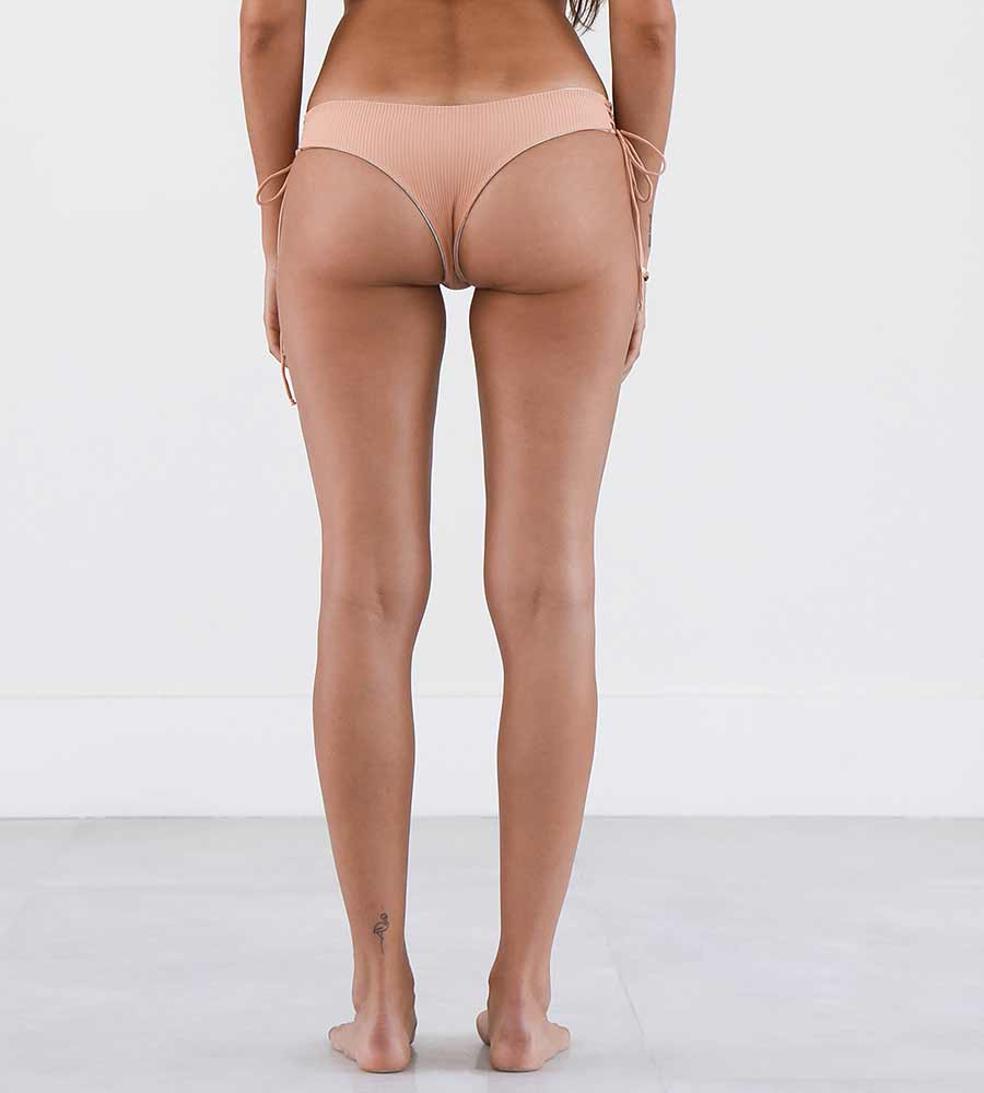 RIBBED PEACH UMIKA BOTTOM NIRVANIC NW00005G