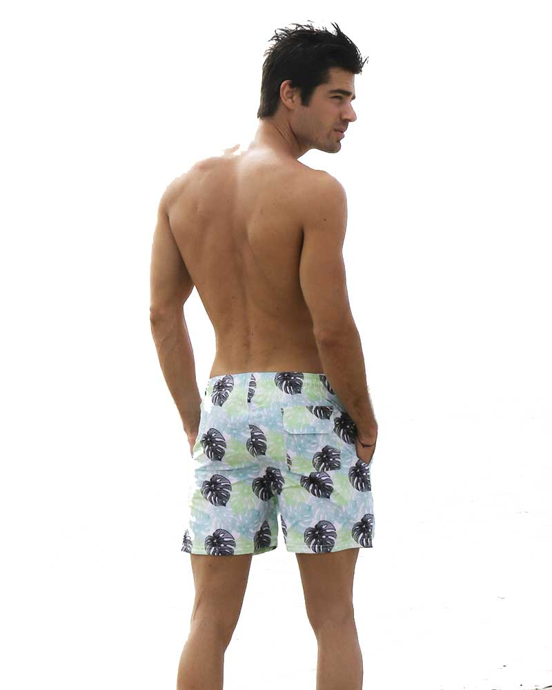 MONSTERA TROPIC RIKI SWIM TRUNKS NIRVANIC NM00002M