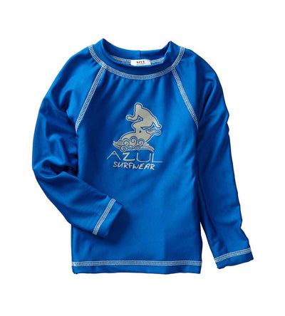 ROYAL LONG SLEEVE SURFER RASHGUARD AZUL 7007-R