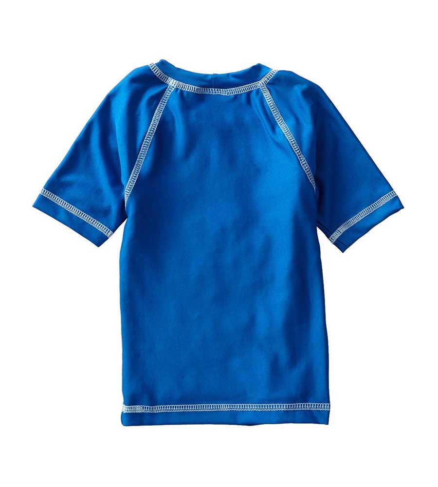 ROYAL SHORT SLEEVE SURFER RASHGUARD AZUL 7006-R