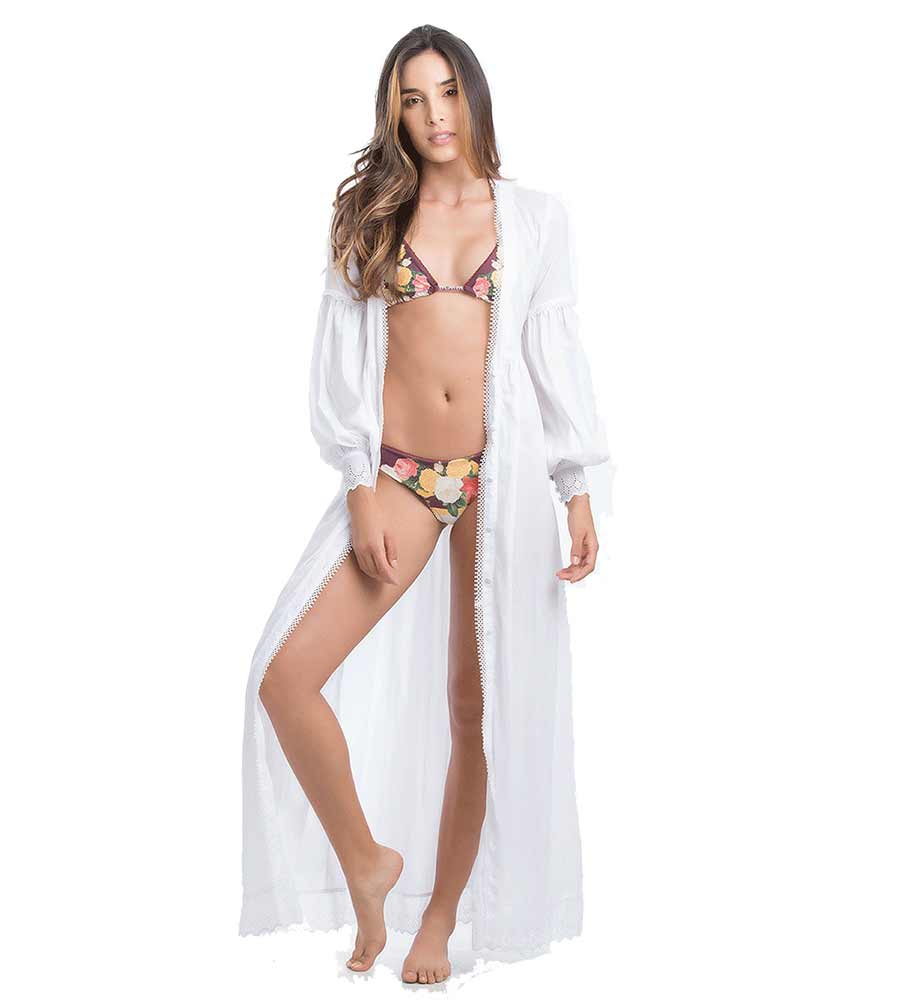 SATUNA LONG DRESS SMERALDA SWIMWEAR RDW004