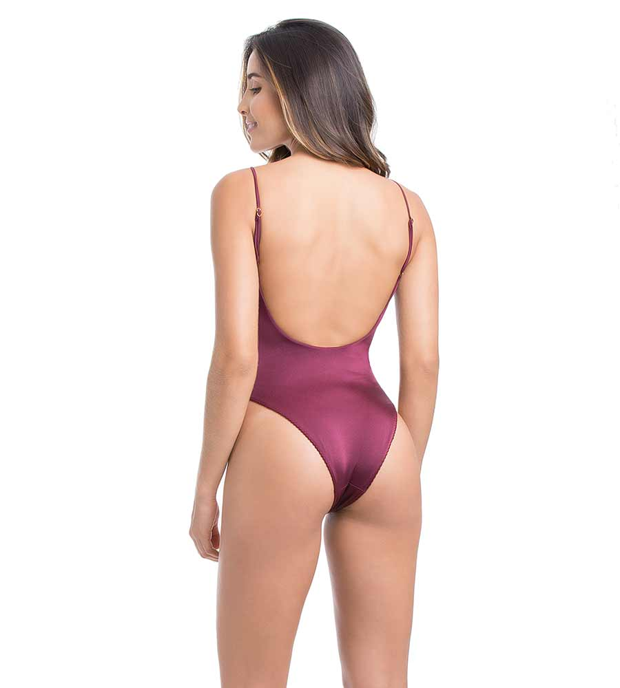 SATUNA PLUM ONE PIECE SMERALDA SWIMWEAR SOW010