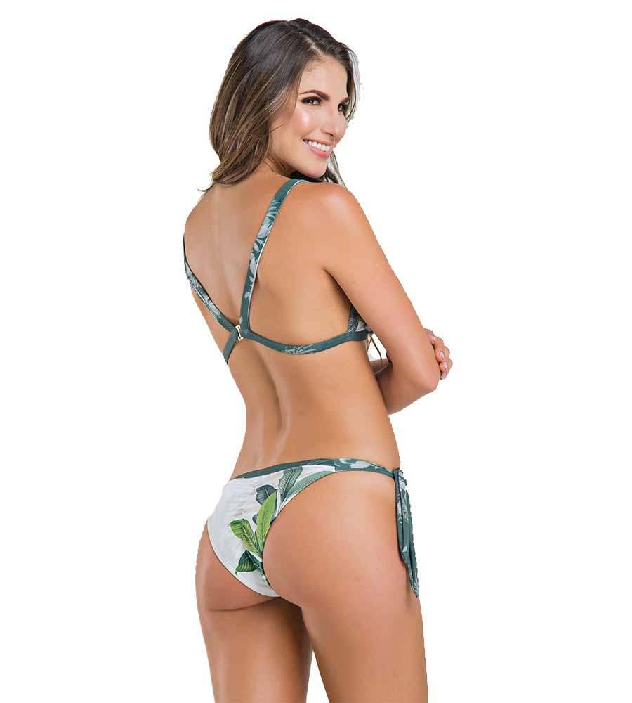SAVANNAH WILDNESS TRIANGLE BIKINI BY PARADIZIA