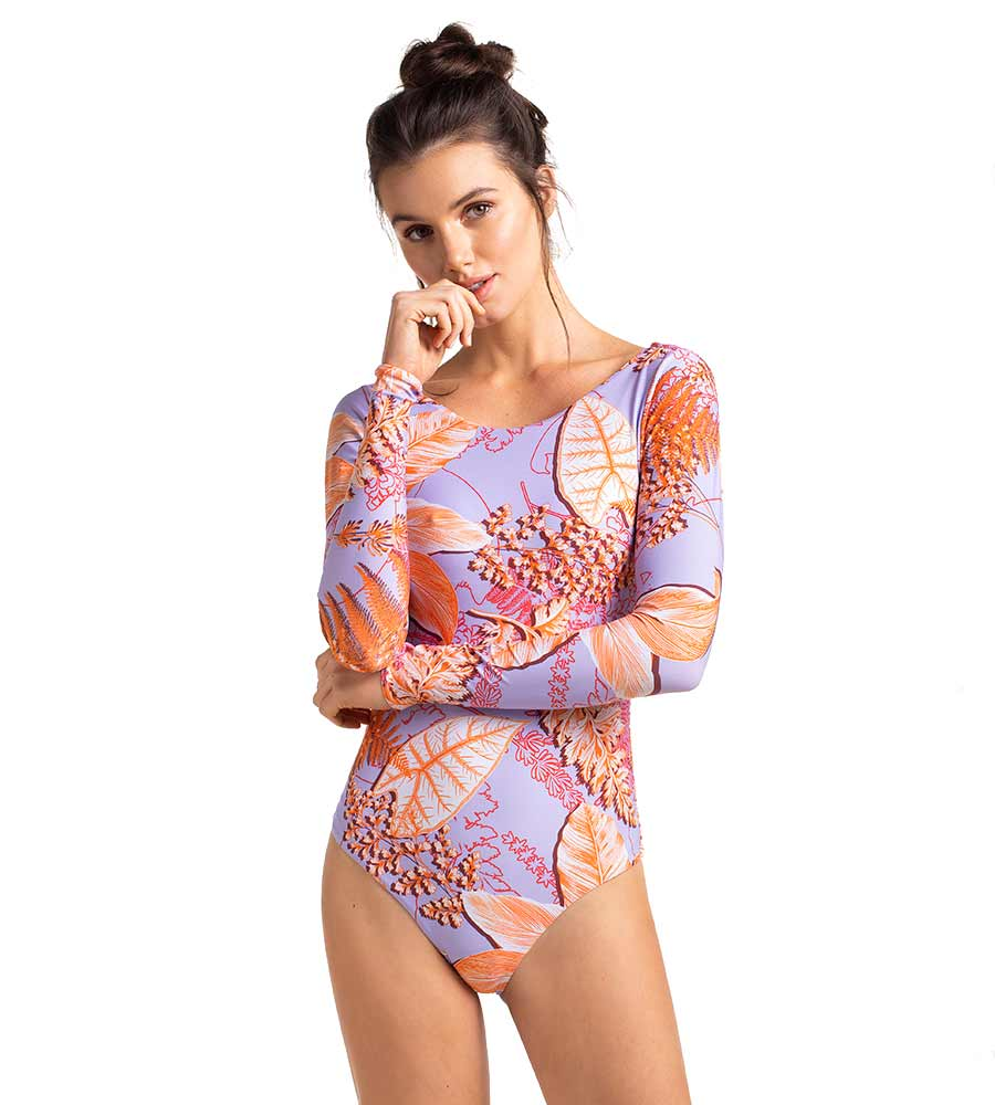 SEA ANEMONE LONG SLEEVE ONE PIECE TOUCHE 0Q41092