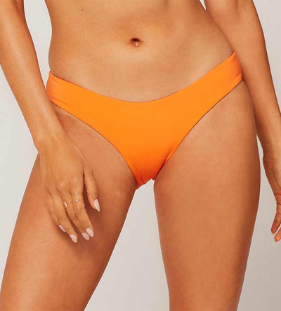 SENSUAL SOLIDS TANGERINE SANDY BOTTOM BY LSPACE
