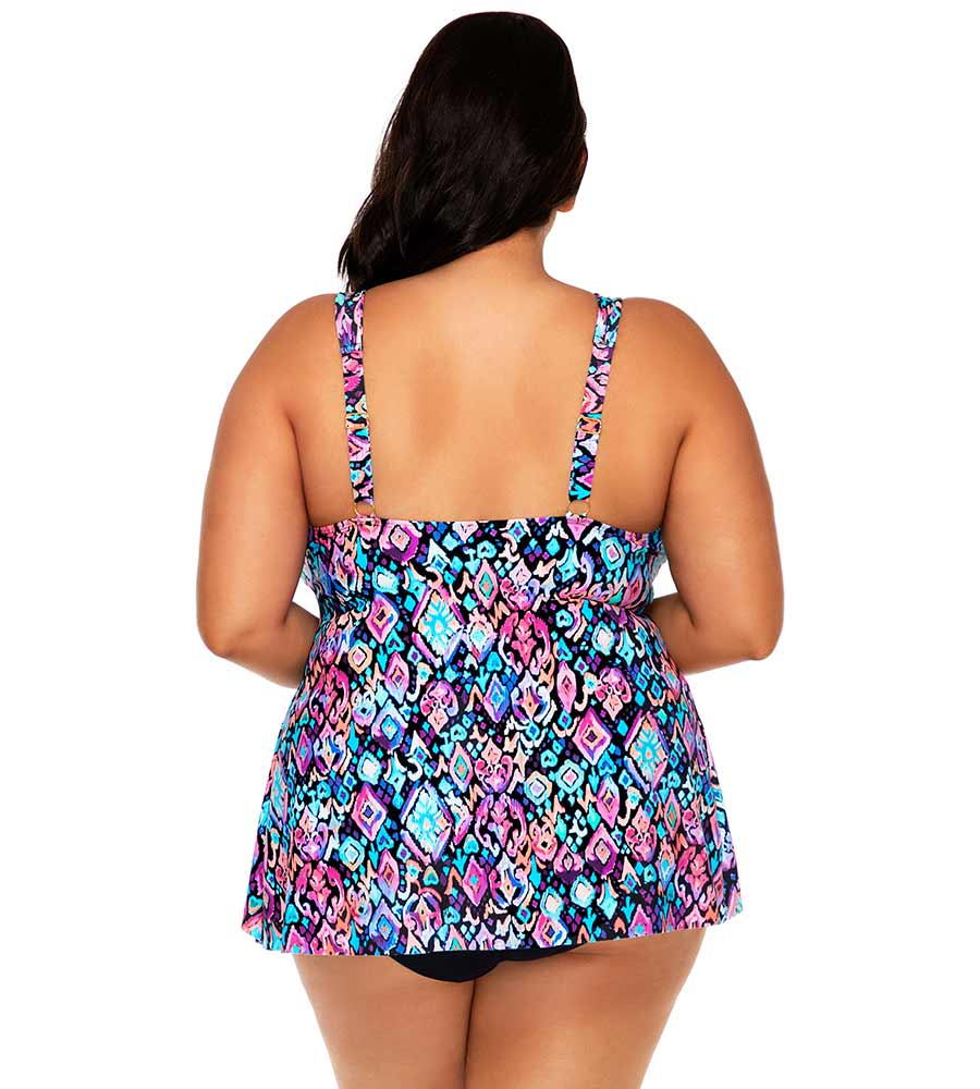 SERENE DREAM AMELIA TANKINI TOP SUNSETS ESCAPE 574TSERDR