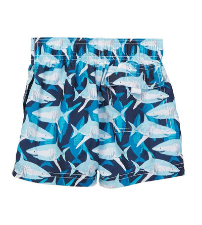 SHARK ZONE SWIM SHORTS AZUL 277