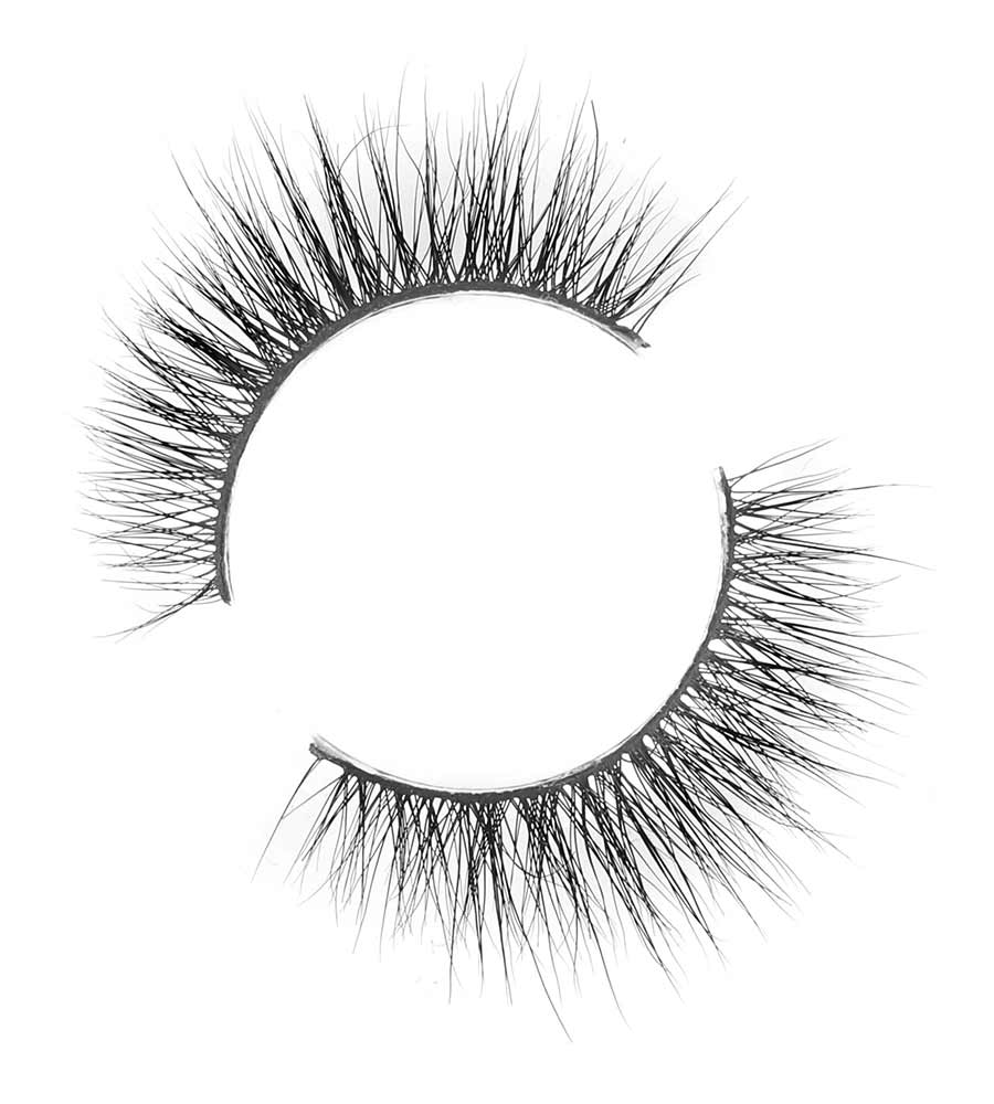 SIN (3D LASHES, LIGHT VOLUME) - LUXURY MINK LASHES DARK SWAN OF DENMARK LM-00