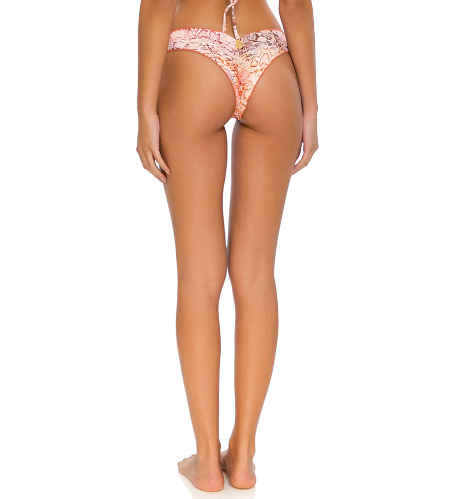 SKINS CORAL RING BRAZILIAN RUCHED BOTTOM BY LULI FAMA