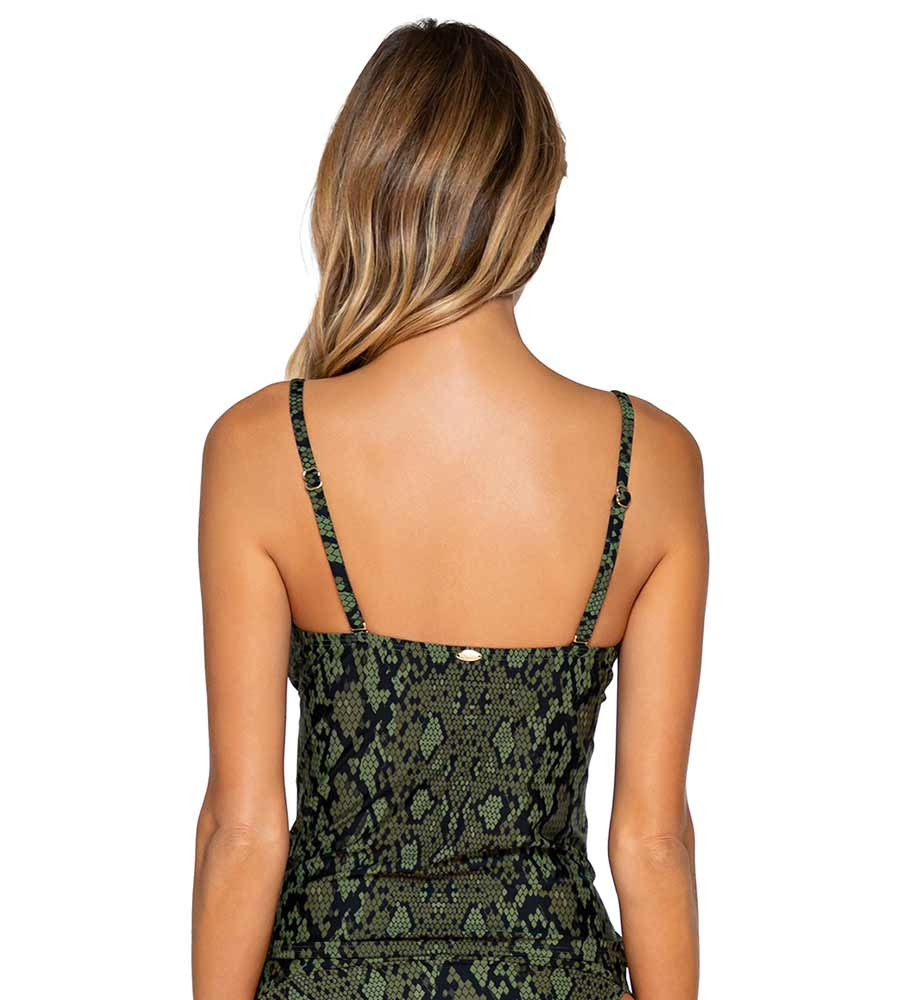 SNAKE CHARMER SIMONE TANKINI TOP BY SUNSETS