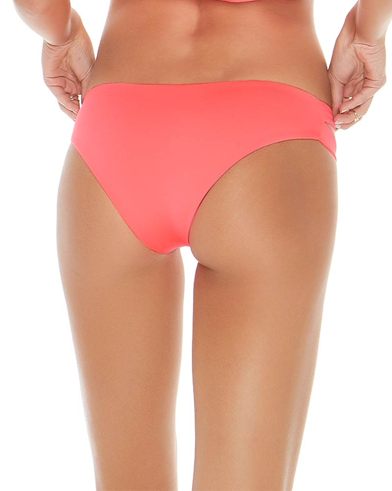 SENSUAL SOLIDS NEON PINK ESTELLA BOTTOM BY LSPACE