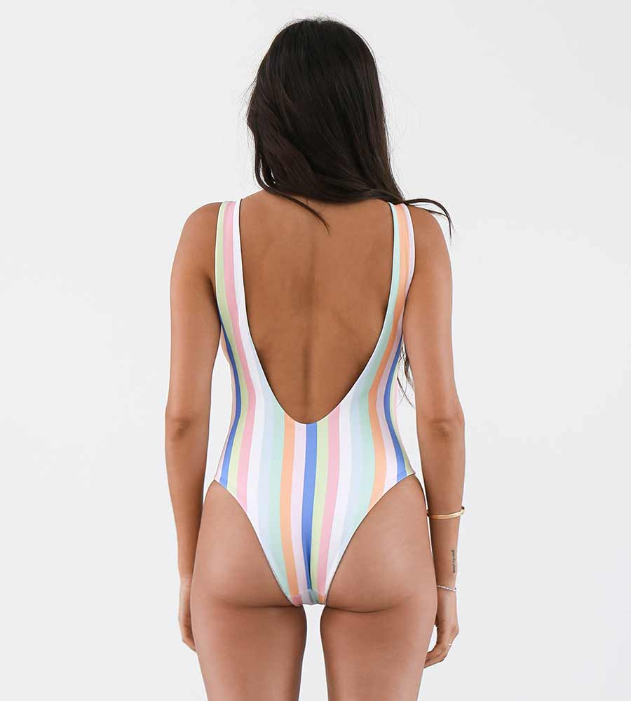 SUMMER STRIPE SOL ONE PIECE NIRVANIC NW00038R