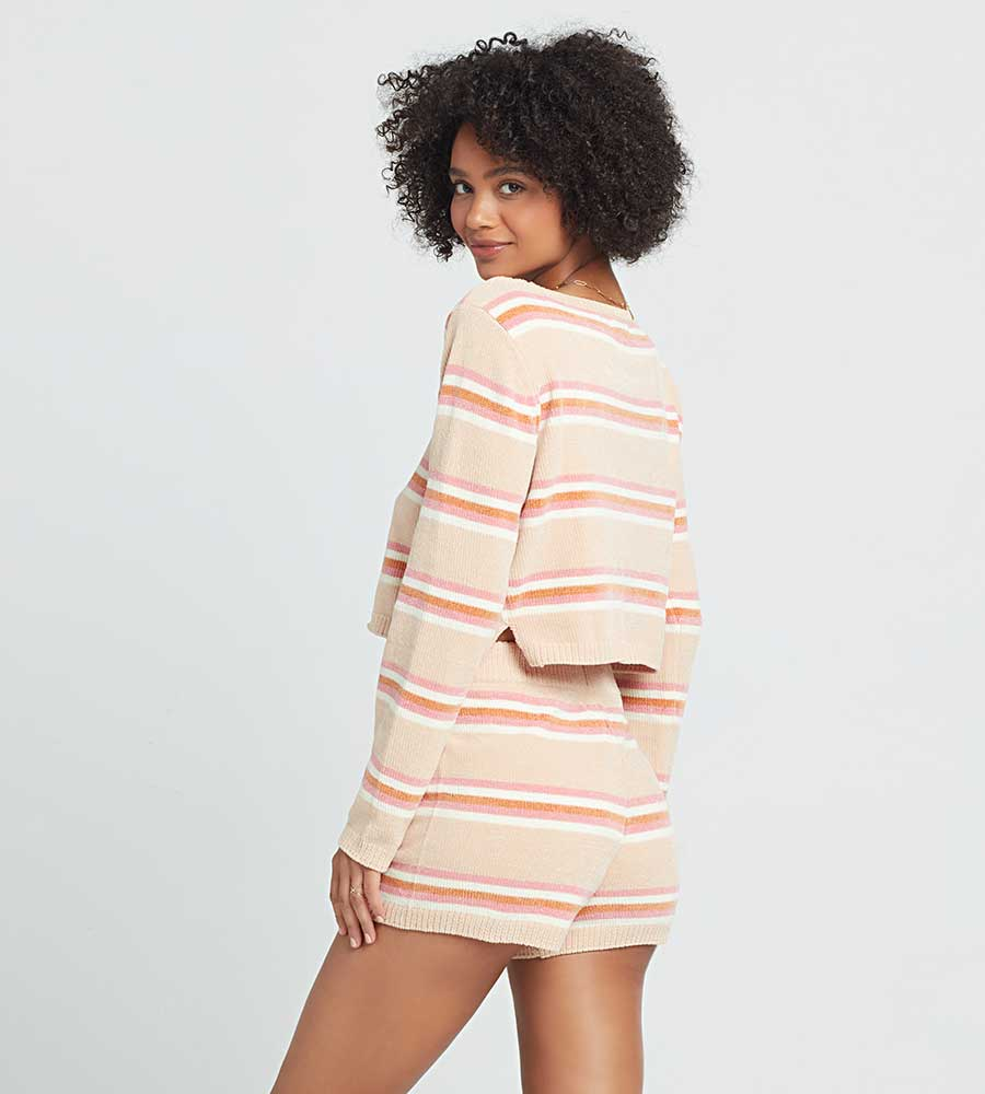 SUN SEEKER STRIPE SWEATER LSPACE SUNSW20-SUN