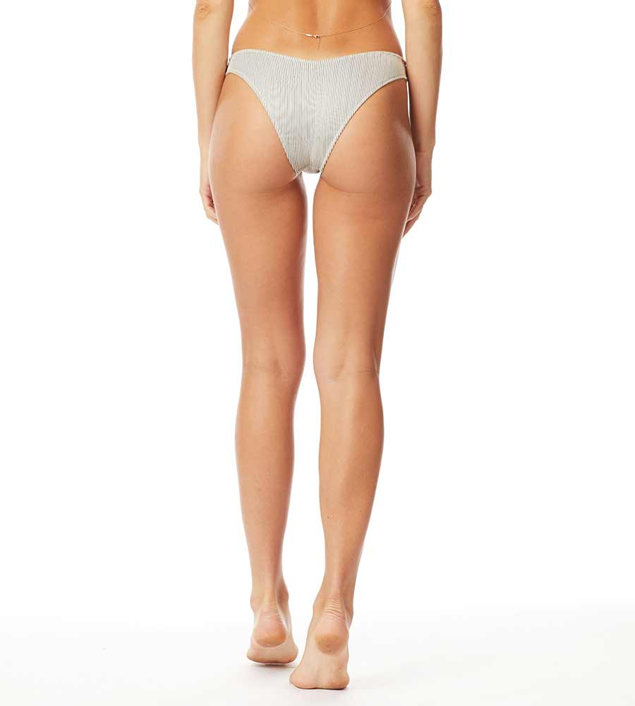 SUNSET RIB STAR SPENCER HIGH-LEG CHEEKY BOTTOM BY TORI PRAVER