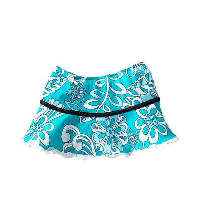 SURFING FRILLS SKIRT AZUL 9579