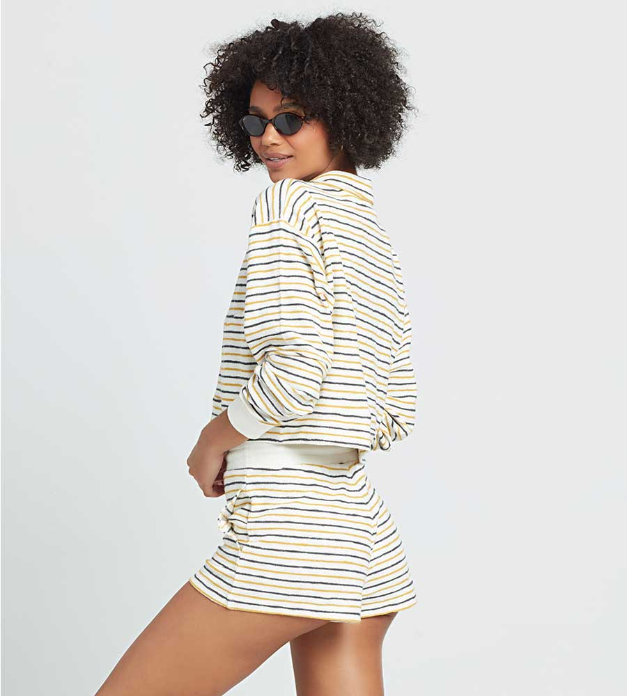 SURF'S UP STRIPE BEST LIFE PULLOVER LSPACE BSLPO21-SUS