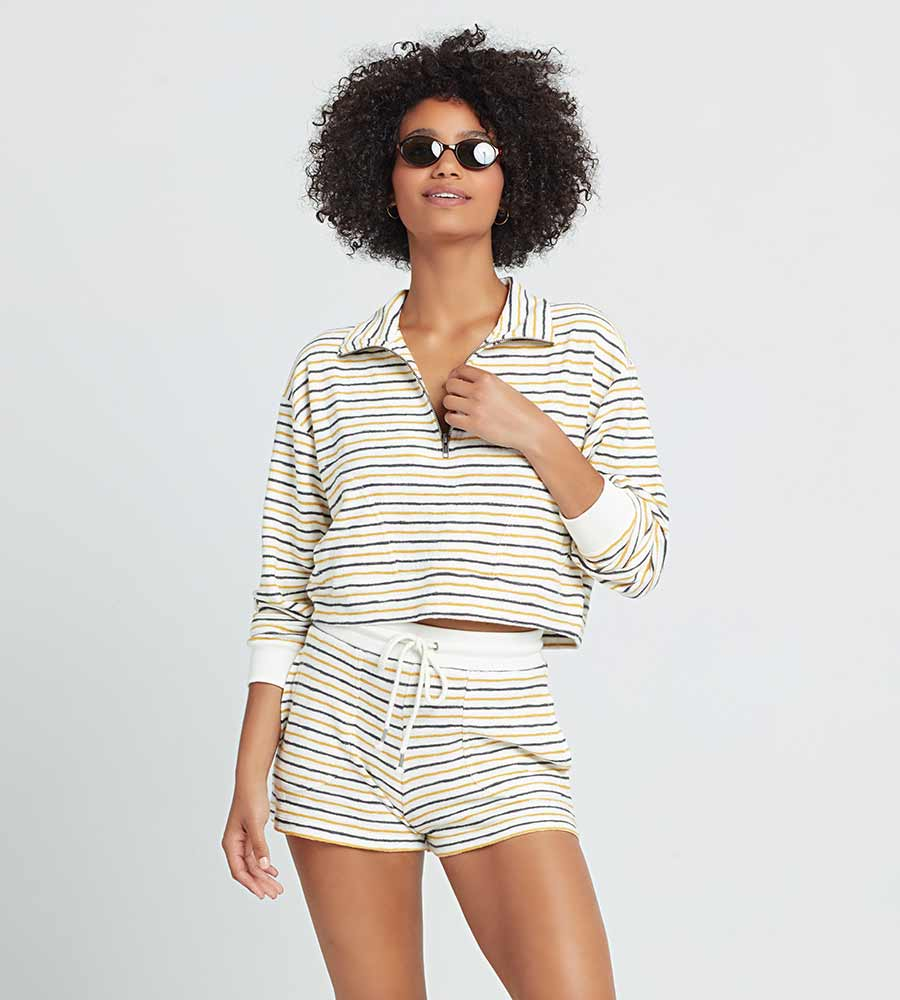 SURF'S UP STRIPE NEW JAM SHORT LSPACE NWJSH21-SUS