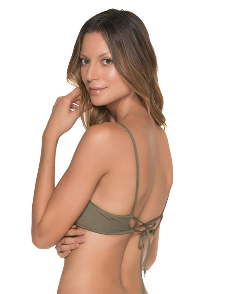 CHIEF FISHBONE ARMY BRALETTE TOP MALAI T00321